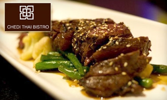 Chedi Thai Bistro - Village: $15 for $30 Worth of Authentic Thai Cuisine at Chedi Thai Bistro in La Jolla