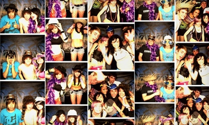 8OH8 Productions - Wichita: $187 for 90 Minutes of Photo-Booth Services from 8OH8 Productions ($375 Value)