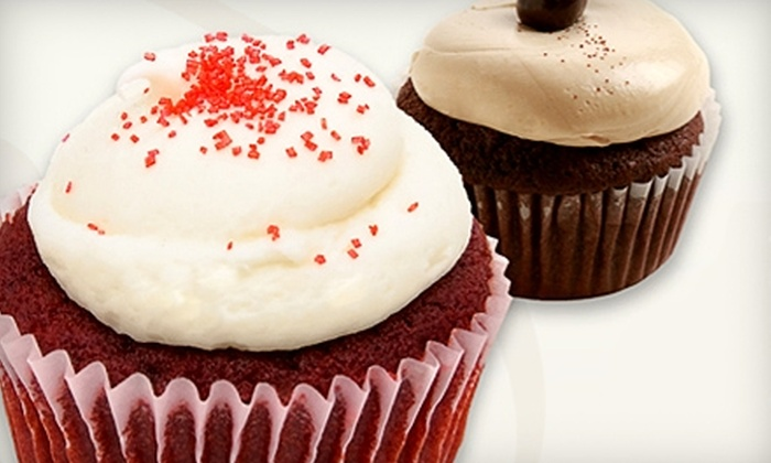 Red Velvet Cupcakery - Multiple Locations: $20 for One Dozen Assorted Cupcakes at Red Velvet Cupcakery ($40 Value). Choose From Three Locations.