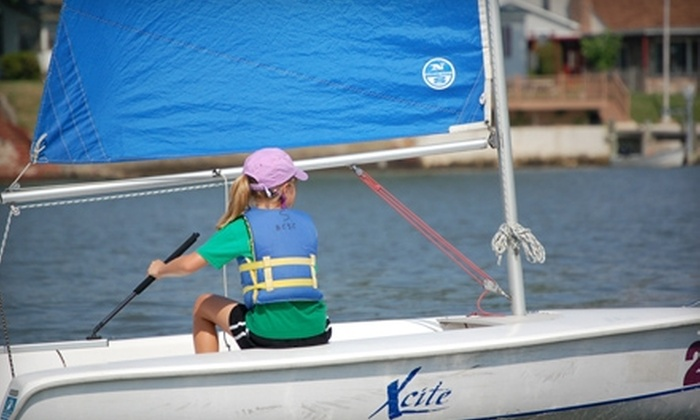 Baltimore County Sailing Center - Essex: $200 for Sailing Camp at Baltimore County Sailing Center ($400 Value)