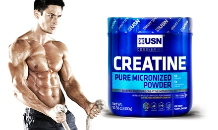 60 Servings of USN Micronized Creatine Powder