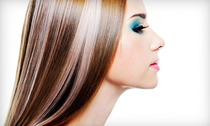 One Nfiniti Salon - Addison: $75 for a Keratin Hair-Smoothing Treatment at One Nfiniti Salon in Addison (Up to $300 Value)