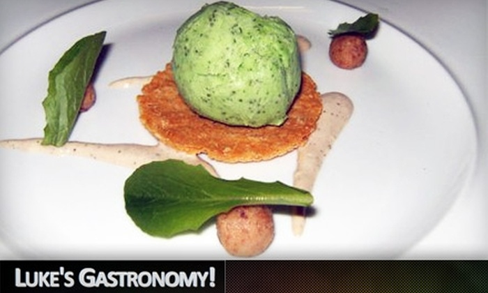 Luke's Gastronomy - Downtown Kingston: $30 for $60 Worth of Upscale Cuisine and Drinks at Luke's Gastronomy