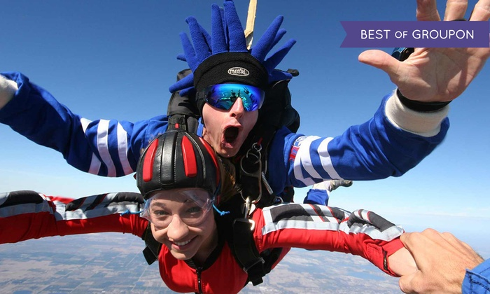 Jump Florida Skydiving - Plant City: $128 for Tandem Skydiving at Jump Florida Skydiving ($199 Value)