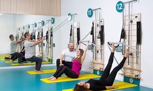 QOMBO: Bono de 10 clases de método QOMBO (pilates máquinas y fitness) en horario de mañana o tardedesde 34,95 € enQOMBO