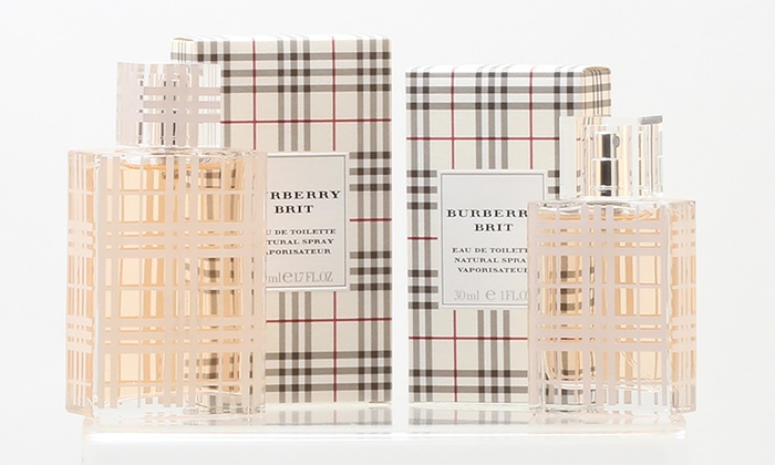 Burberry Brit Eau de Toilette for Women (1 or 1.7 Fl. Oz.)