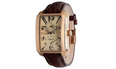 Ingersoll Mens Missouri Cream Brown Watch