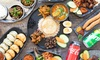 Nepalese Feast with Drinks