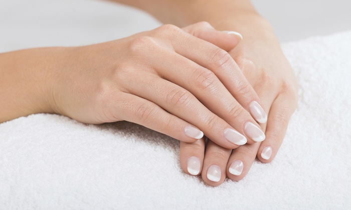 Eucalyptus Spa - Near North Side: One or Two Shellac Manicures at Eucalyptus Spa (Up to 44% Off)