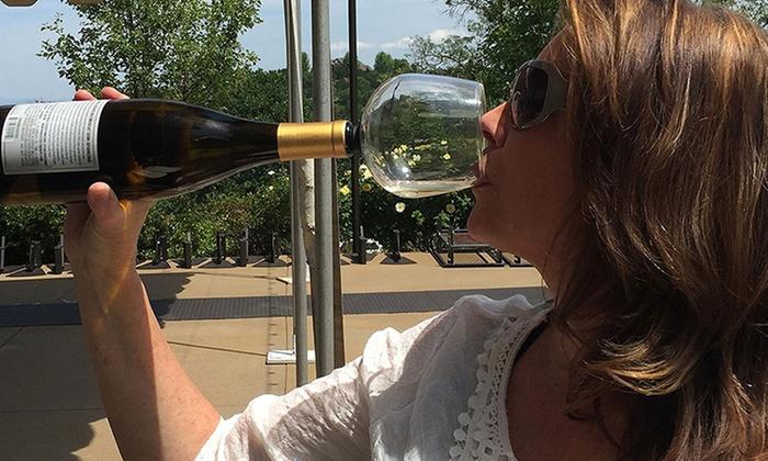 1x oder 2x widerstandsfähiges Weinglas ohne Fuß für