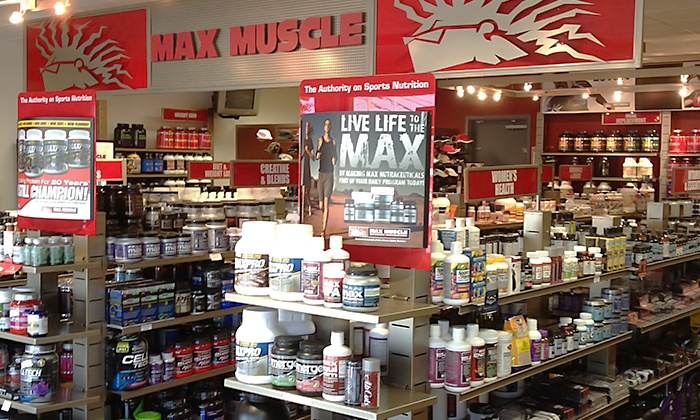 Max Muscle - Fair Oaks: $16 for $30 Worth of Nutritional Supplements at Max Muscle Fair Oaks