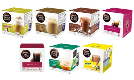 Selection of 64 Nescafe Dolce Gusto Pods in Choice of Flavours