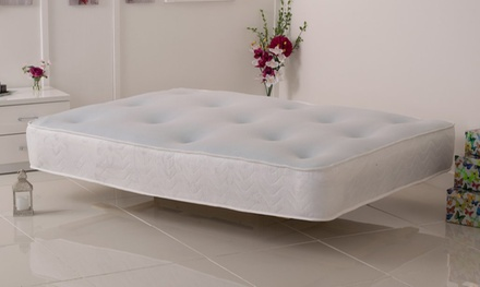 Halliday Cool Blue Memory Foam Sprung Mattress in Choice of Size With Free Delivery