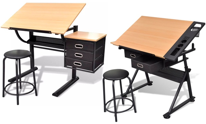 jusqu 39 18 table dessin inclinable groupon. Black Bedroom Furniture Sets. Home Design Ideas