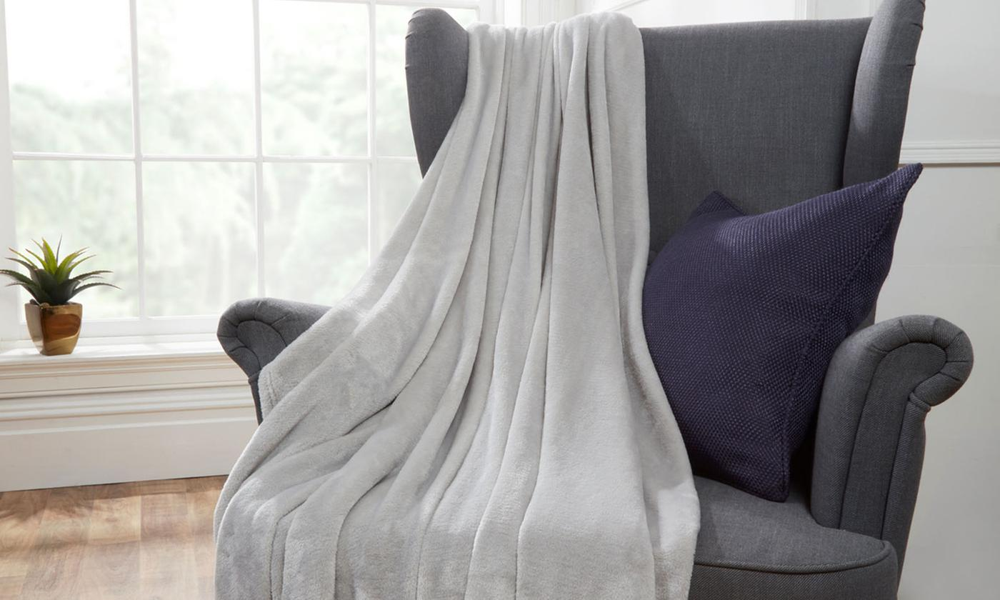 Pin Mill Plush Soft Throw
