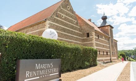 Nabij Maastricht: standaard of superior queen tweepersoonskamer met ontbijt & wellness in 4* Martin's Rentmeesterij
