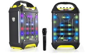 Pyle PWMA275BT Portable Bluetooth Karaoke Speaker System