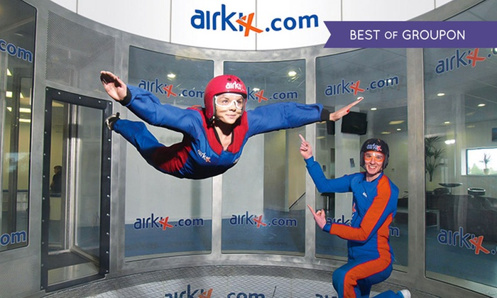 Airkix - Multiple Locations: Indoor Skydiving Experience with Photo and Optional DVD at Airkix, 3 Locations (Up to 62% Off)