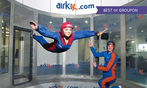 Airkix: Indoor Skydiving Experience with Photo and Optional DVD at Airkix, 3 Locations (Up to 62% Off)