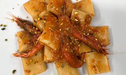 Menu gourmet pesce a 44,90€euro