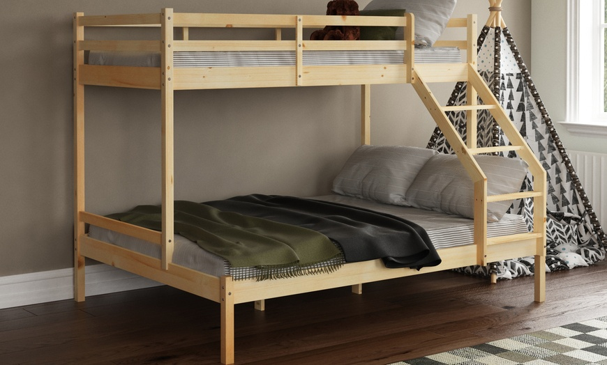 Sydney Triple Sleeper Bunkbeds from £219.98 (42% OFF)