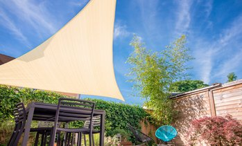 Toldo vela triangular