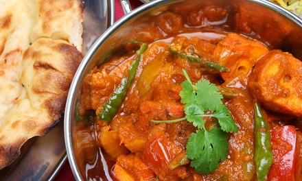 Indian Lunch or Dinner Cuisine for Two at Taste Buds of India (Up to 47% Off)