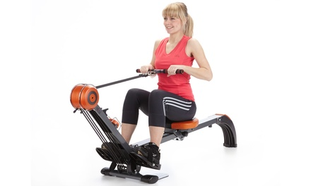 Skandika Rudergerät Regatta Multi Gym Poseidon SF-1150 in Schwarz-Orange (Stuttgart)