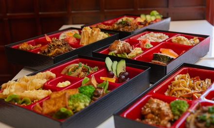 Bento Box + Miso Soup or Drink for 1 ($11.50), 2 ($23) or 4 Ppl ($46) at Shuji Sushi - 50 Queen St (Up to $78.8 Value)