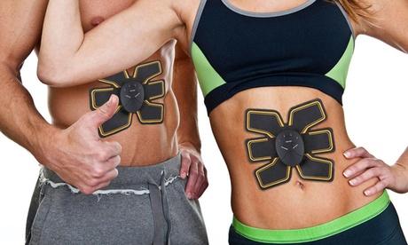 Trainer pad elettrostimolatore per stimolare i muscoli di braccia, gambe o addominali