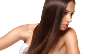 Beauty and Beyond Hair Salon: Keratin Treatment for Short or Medium-Length Hair at Beauty and Beyond Hair Salon (Up to 73% Off)