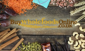 Buy Wholefoods Online: Up to £30 Spend Toward Buy Wholefoods Online (50% Off)