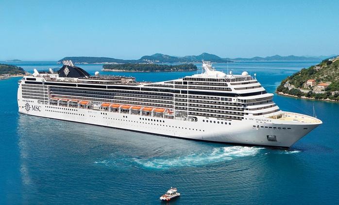 Méditerranée : Croisière d'une nuit au départ de Marseille ou Nice en navire MSC  pour 1 personne