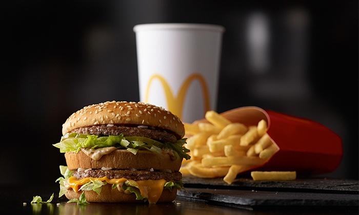 Meal Multiple Fast Food Restaurants
