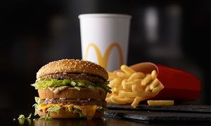 McDonald's: Family Pack of McNuggets, Fries, and Drinks, or $4 for $8 Worth of American Fast Food at McDonald's