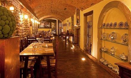 Menu romagnolo a Bergamo alta