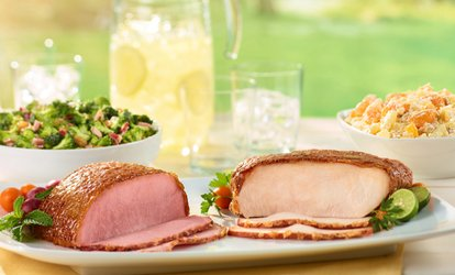 $28 for $50 Towards Ham, Turkey, BBQ Meats, and More at HoneyBaked Ham