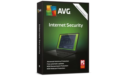 AVG 2018 Internet Security Licence for Three Computers Up to Three Years