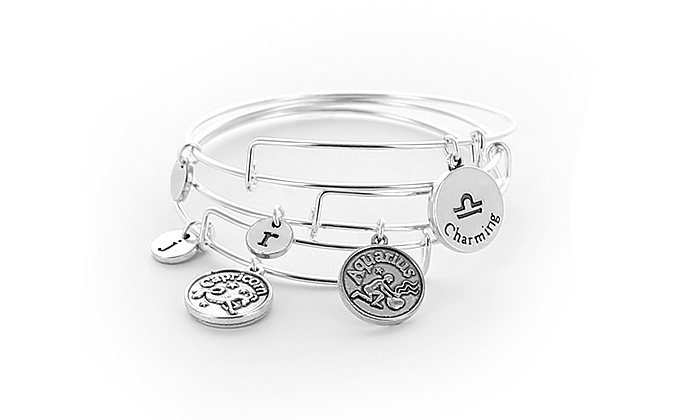 Monogram Online: Bangle with Personalized Horoscope Engraving from Monogram Online (Up to 83% Off)