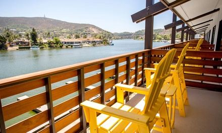 Stay with Standup-Paddleboard or Kayak Rental at Lakehouse Hotel and Resort in San Marcos, CA. Dates into May.