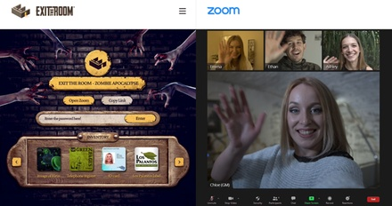 Live Virtual Escape Room Game For Up To Six, from Exit The Room (78% Off).