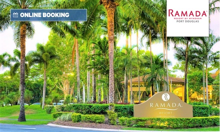 Port Douglas: 2,3 or 7 Nights for Two People with Bike Hire and Food and Beverage Credit at Ramada Resort by Wyndham
