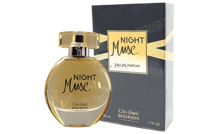 One or TwoPack of Bourjois Night Muse 50ml Eau de Parfum