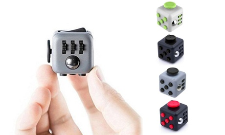 Fidget Stress-Relieving Toy Cube