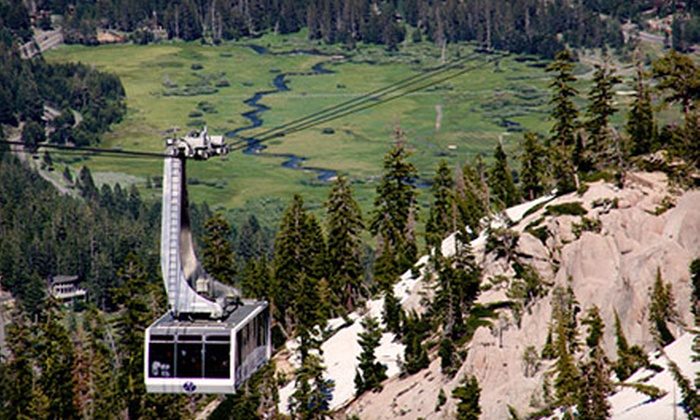 Squaw Valley - Olympic Valley: Aerial Tram, Pool, and Roller Skating Admission at Squaw Valley (50% Off). Four Options Available.