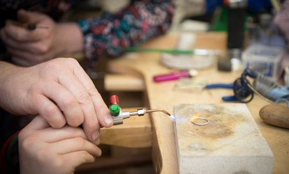 image for Introduction to Silversmithing Workshop for One or Two at Hiraeth Creative (Up to 59% Off)