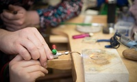 Introduction to Silversmithing Workshop for One or Two at Hiraeth Creative (Up to 59% Off)