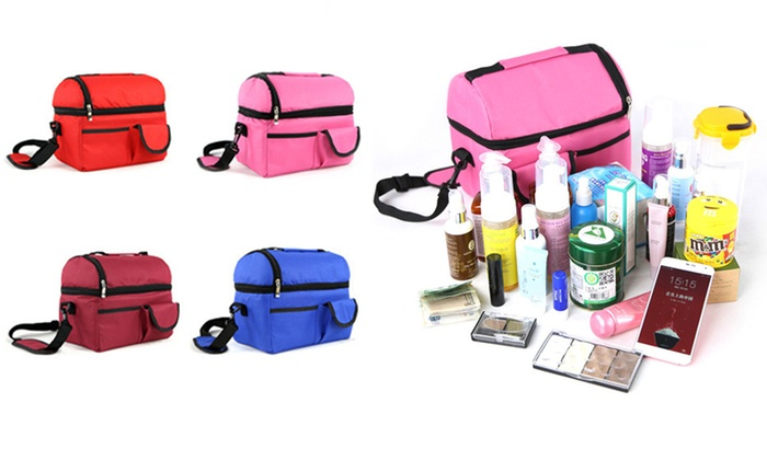 Ever Mercantile Limited: Insulated Thermal Picnic Cooler Bag: One ($19) or Two ($29)