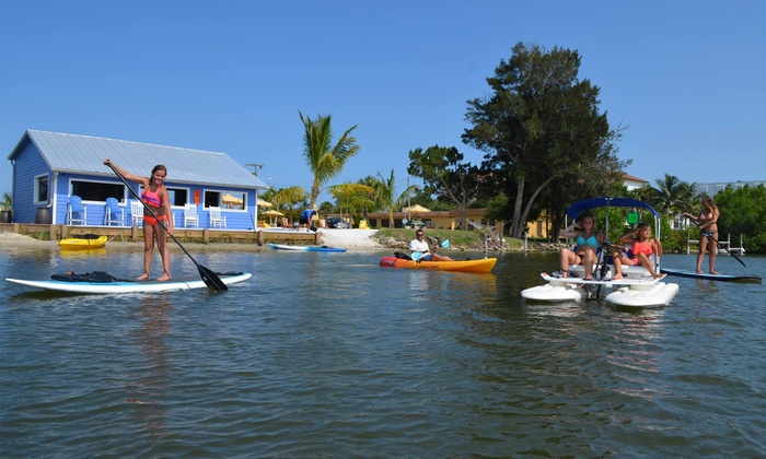 Kayak Or Board Al At Wildlife Water Sports Up To 42 Off Six Options Available