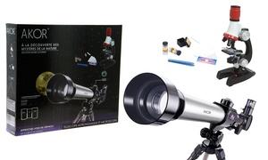 Télescope et microscope Akor